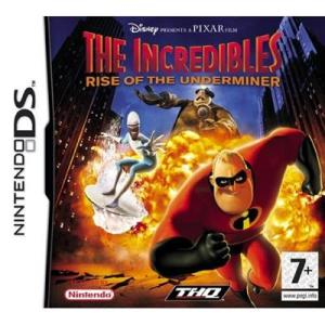 NDS: Incredibles Rise of The Underminer (käytetty)