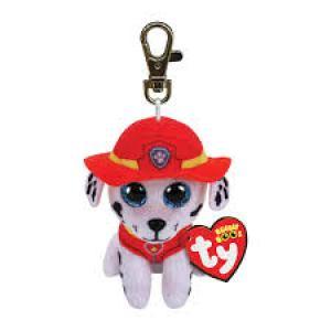 TY Beanie Boos MARSHALL - dalmatian dog clip