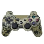 PS3: Wireless DoubleShock III Game Controller ( Green Camo)