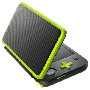 3DS: New Nintendo 2DS XL Black+LimeGreen Mario Kart 7 (pre-installed) Edition