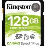 Kingston Canvas Select Plus 128GB SDXC SD Card