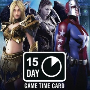 PC: NCSOFT: 15 Day Game Time Card