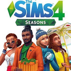 PC: The Sims 4 Seasons  Code in Box