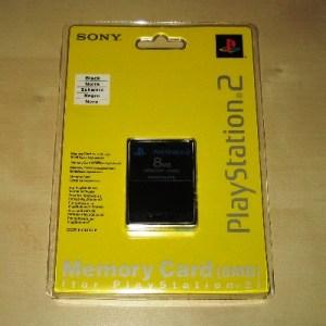 PS2: Playstation 2 Muistikortti 8MB (Sony) (käytetty)