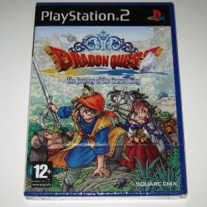 PS2: Dragon Quest Journey of the Cursed King jenkkipainos (käytetty)