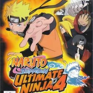 PS2: Naruto Shippuden: Ultimate Ninja 4