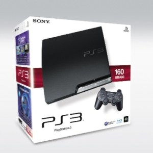 PS3: PlayStation 3 Slim 160 GB -Pelikonsoli (käytetty)