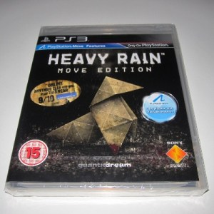 PS3: Heavy Rain - Move Edition (käytetty)