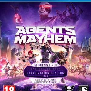 PS4: Agents of Mayhem - Day One Edition