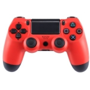 PS4: (Red)Doubleshock 4 Wireless Game Controller for Sony PS4(Red)