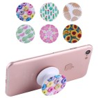Mobile Phone Holder Stand with Car Bracket & Winder Function (Donuts)