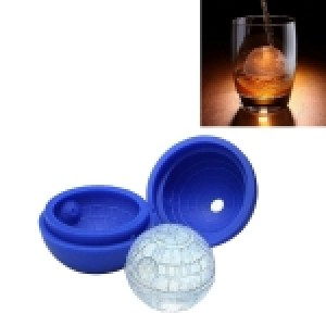Creative Star Wars Silicone Ice Cube Mold, Size: about 7.5cm(Dark Blue)