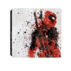 PS4: Deadpool Fashion Sticker Icon Protective Film for PS4 Slim
