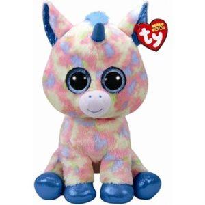 TY Beanie Boos BLITZ - Blue unicorn reg