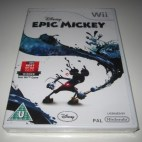 Wii: Disney Epic Mickey (käytetty)
