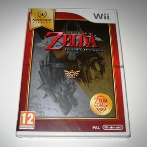 Wii: The Legend of Zelda: Twilight Princess (käytetty)