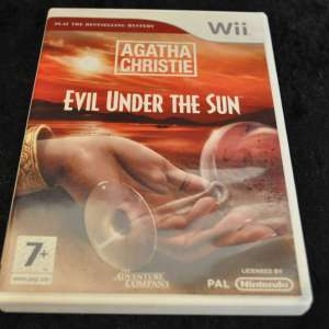 Wii: Agatha Christie Evil Under The Sun (käytetty)