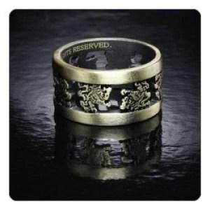Twilight Breaking Dawn Part 2 Ring LIONS (Metal. Size 8 1/2)