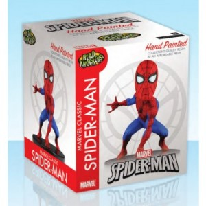 Marvel Classic SPIDER-MAN Extreme Head Knocker 13cm New Packaging