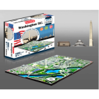 4D Cityscape - Washington DC. USA Puzzle