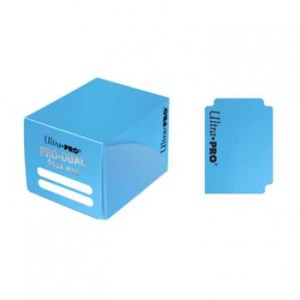 UP - Deck Box - Pro Dual Small - Light Blue