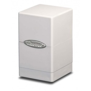 UP - Deck Box - Satin Tower - White