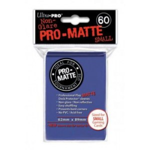 UP - Small Sleeves - Pro-Matte - Blue (60 Sleeves)