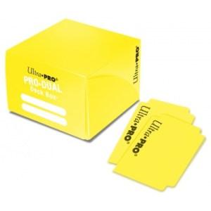 UP - Deck Box - Pro Dual - Yellow