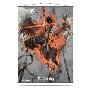 UP - Wall Scroll - Force of Will - Dark Arla. the Shadow Wing