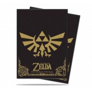 UP - Sleeves Standard - The Legend of Zelda: Black & Gold (65 Sleeves)