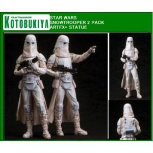 Star Wars - Army Builder Snowtrooper Set of 2 ARTFX+ Series 19cm