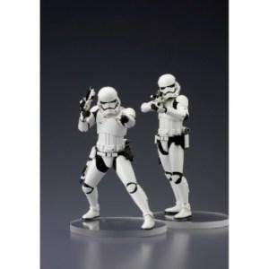 Star Wars ARTFX+ Series Episode VII First Order Stormtrooper set of 2 Statues 18cm (Model Kit)