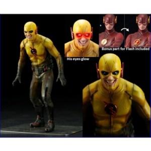 DC Comics The Flash TV-Series - Reverse Flash w/ LED-Light Eyes ARTFX+ Statue 19cm (bonus part for Flash SV184 inclusive)