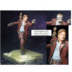 Marvel Guardians of the Galaxy 2 - Star Lord w/ Groot ARTFX Statue 32cm