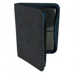 4-Pocket Premium Zip-Album - Blue