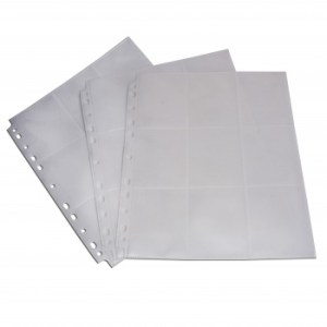 18-Pocket Pages - White - Sideloading (50 pcs)
