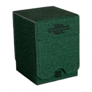 Convertible Premium Deck Box Single Vertical 100+ Standard Size Cards - Green