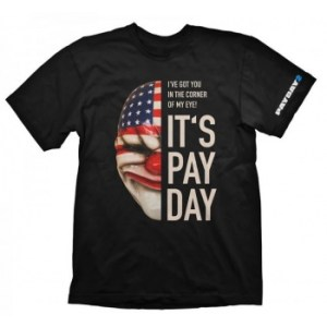 Payday 2 T-Shirt - Dallas Mask - Size XXL