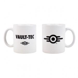 Fallout Mug Vault-Tec Logo White