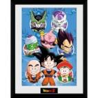 GBeye Collector Print - Dragon Ball Z Chibi Characters 30x40cm