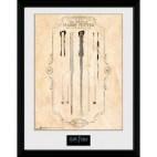 GBeye Collector Print - Harry Potter Harrys Wand 30x40cm