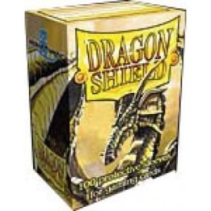 Dragon Shield Standard Sleeves - Gold (100 Sleeves)