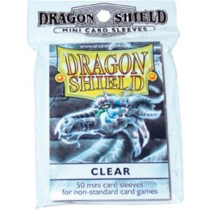 Dragon Shield Small Sleeves - Clear (50 Sleeves)