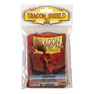 Dragon Shield Standard Sleeves - Copper (50 Sleeves)