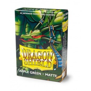 Dragon Shield Small Sleeves - Japanese Matte Apple Green (60 Sleeves)