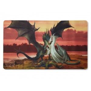 Dragon Shield Play Mat - Valentine Dragons