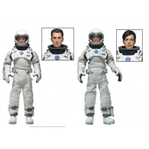 Christopher Nolans Interstellar - Cooper & Brand Clothed Deluxe Action Figures 20cm Limited Edition 2-Pack