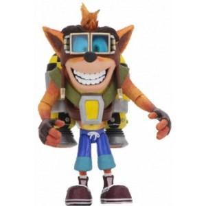 Crash Bandicoot - 18cm Scale Action Figure - Deluxe Crash with Jetpack