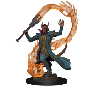 D&D Icons of the Realms Premium Figures: Tiefling Male Sorcerer (6 Units)