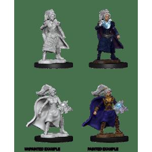 D&D Nolzurs Marvelous Miniatures - Female Human Sorcerer (6 Units)